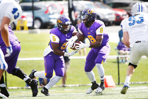 Williams College football season opener against Colby College-092416