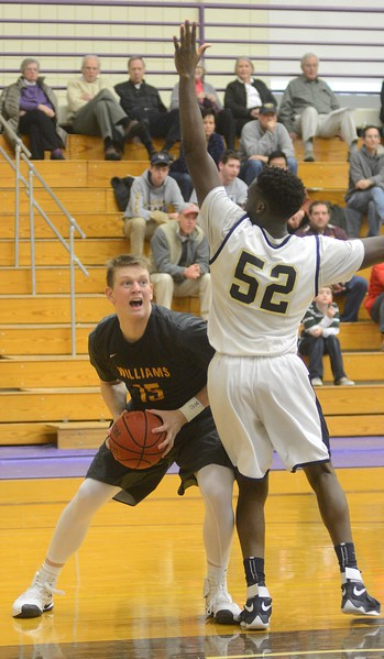 Williams men's basketball plays Trinity -010817