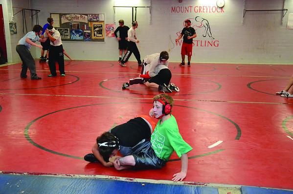 Mount Greylock Wrestling Practice