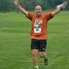 Mike is happy to be half way done!