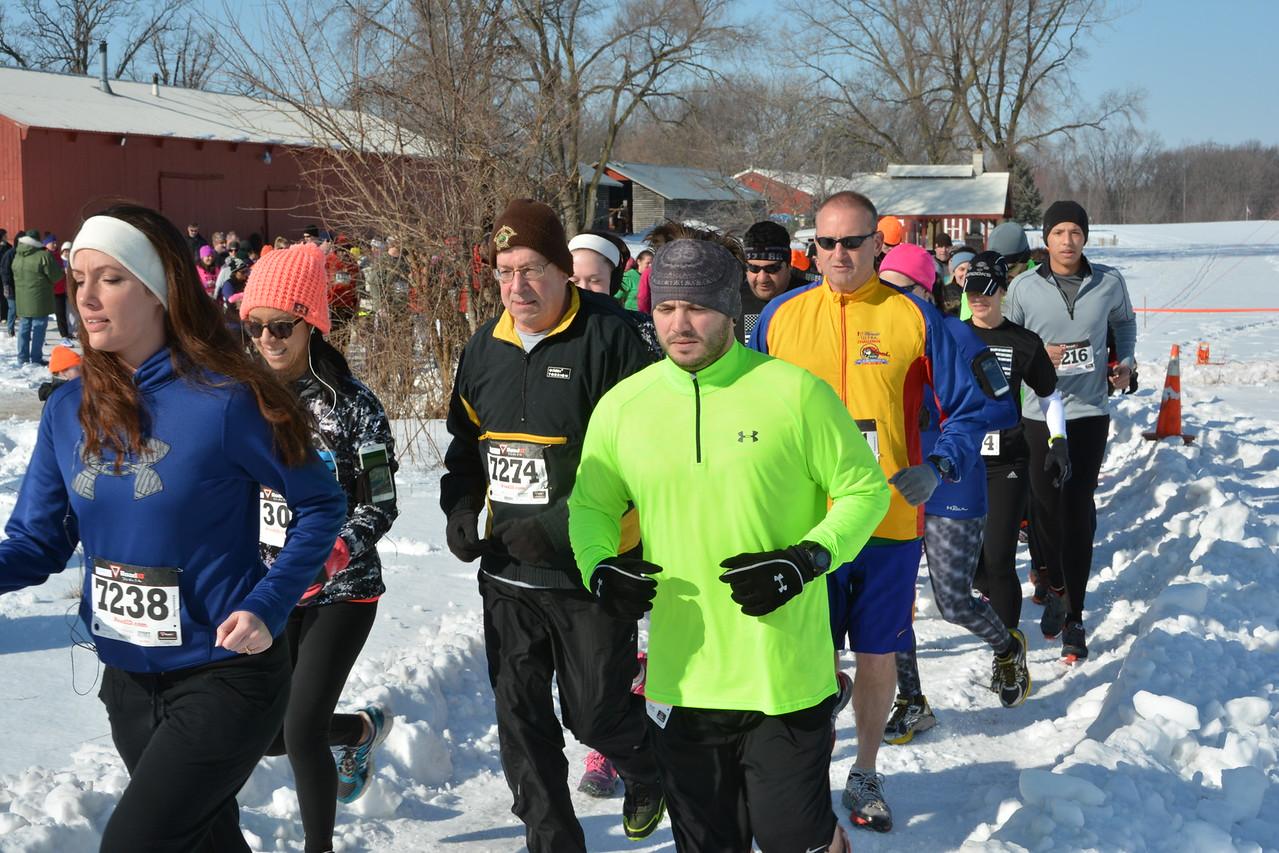 Foot Pursuit 2015 5k