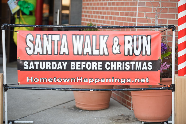 Hometown Happenings Santa 5k