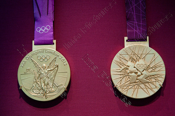 medals medailles Olympic Games 2012 London