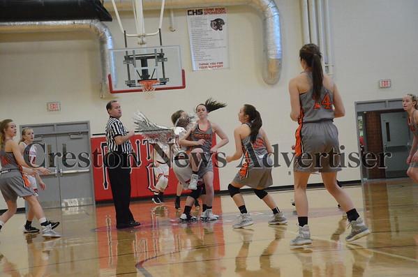 01-09 Creston-Red Oak girls basketball