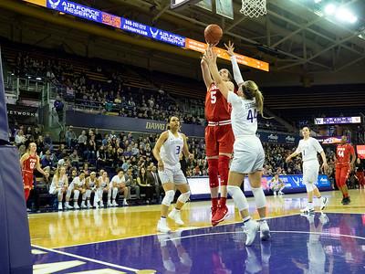 COLLEGE BASKETBALL: JAN 13 Women's Utah at Washington