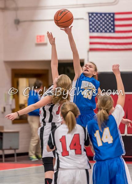 Basketball Girls 5-6 Montmorency vs Dixon Catholic - Tuesday, Jan. 27, 2015 - Frame: 2369