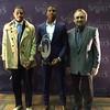 Mark Podolsi - The News-Herald<br /> Terrelle Pryor, Jaylen Hall and Bob Golic at the Cleveland Sports Awards at the Renaissance Hotel on Jan. 26