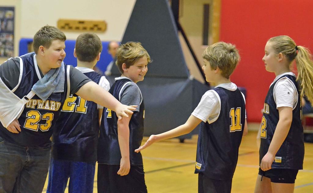. Paul DiCicco - The News-Herald Photos from the Upward Basketball League in Mentor on Jan 27.