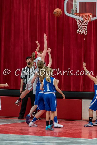 Basketball Girls 7-8 Montmorency vs St. Marys - Tuesday, Feb. 10, 2015 - Frame: 4614