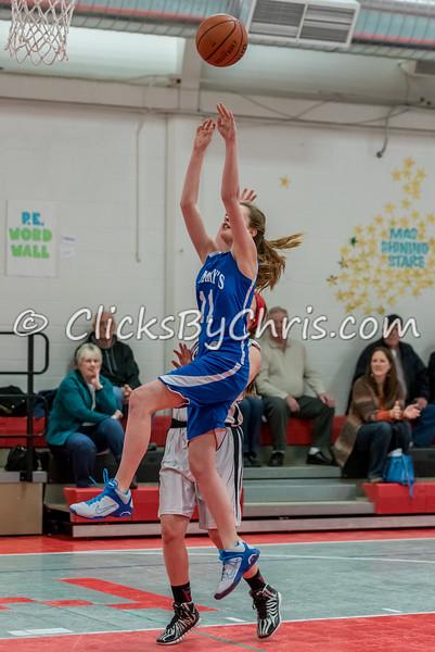 Basketball Girls 7-8 Montmorency vs St. Marys - Tuesday, Feb. 10, 2015 - Frame: 4608