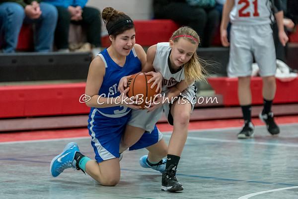 Basketball Girls 7-8 Montmorency vs St. Marys - Tuesday, Feb. 10, 2015 - Frame: 4576