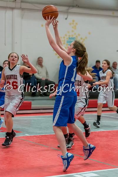 Basketball Girls 7-8 Montmorency vs St. Marys - Tuesday, Feb. 10, 2015 - Frame: 4646