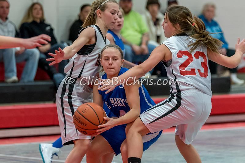 Basketball Girls 7-8 Montmorency vs St. Marys - Tuesday, Feb. 10, 2015 - Frame: 4617