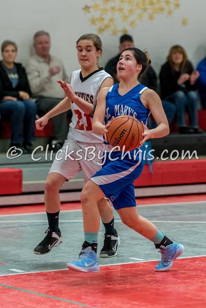 Basketball Girls 7-8 Montmorency vs St. Marys - Tuesday, Feb. 10, 2015 - Frame: 4638