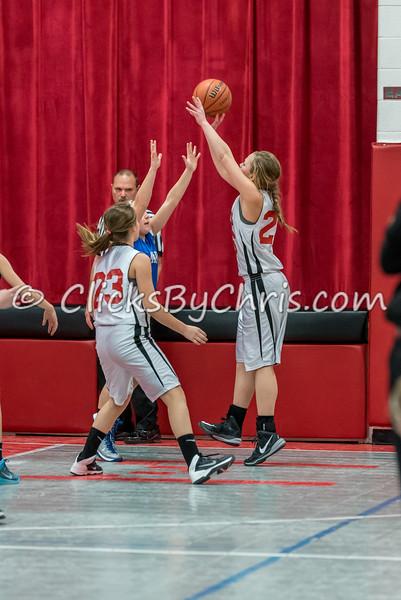 Basketball Girls 7-8 Montmorency vs St. Marys - Tuesday, Feb. 10, 2015 - Frame: 4553