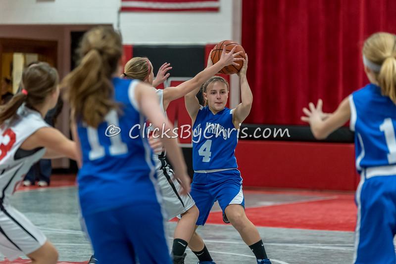 Basketball Girls 7-8 Montmorency vs St. Marys - Tuesday, Feb. 10, 2015 - Frame: 4566