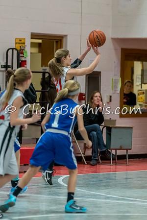 Basketball Girls 7-8 Montmorency vs St. Marys - Tuesday, Feb. 10, 2015 - Frame: 4569
