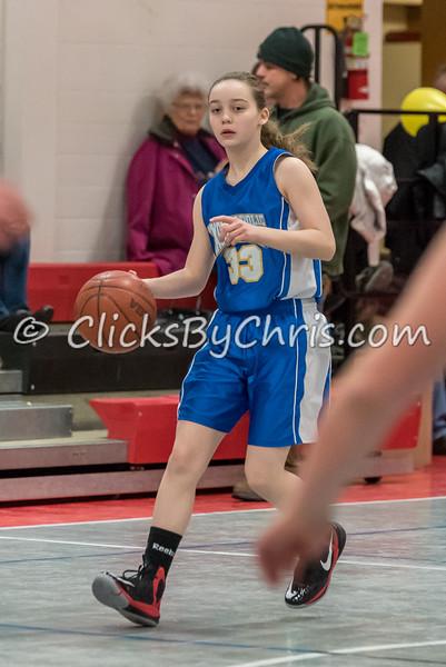 Basketball Girls 7-8 Montmorency vs Dixon Catholic - Thursday, Feb. 12, 2015 - Frame: 5783