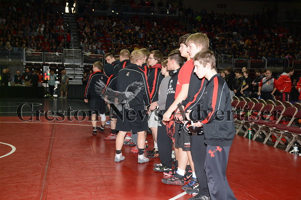 02-16 State Dual Team Tournament wrestling