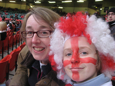 02 2009 - England verses Wales at Cardiff