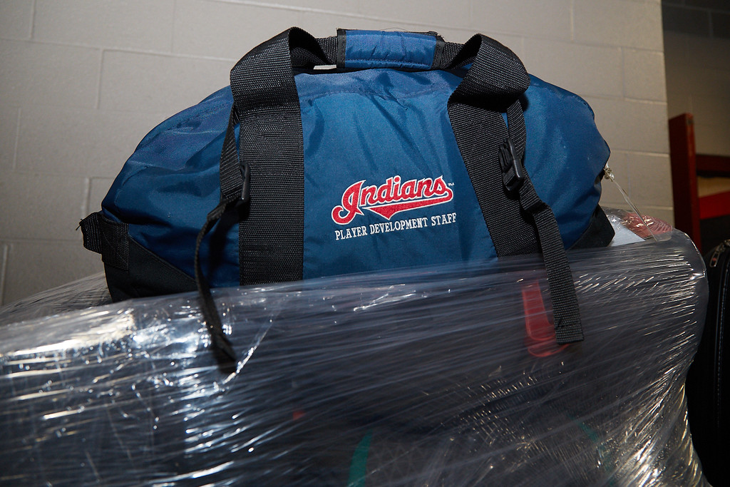 . Courtesy Cleveland Indians The Indians equipment truck left for spring training in Arizona on Feb. 1.