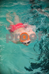 Brook Hill School senior Bailey Bickerstaff, 18, of Tyler, does swims Jan. 26, 2016 at her swim practice at Metroplex Aquatics in Tyler. Bickerstaff competes both for Metroplex Aquatics and also as the sole athlete on the Brook Hill swim team.   (Sarah A. Miller/Tyler Morning Telegraph)