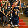 Travis Brumbaugh looks to put up a shot.