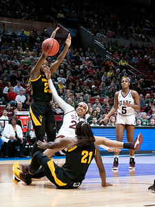 NCAA BASKETBALL: MAR 29 Div I Women's Championship - Third Round - Arizona State v Mississippi State