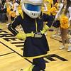 Women's title game, Toledo mascot Rocksy