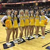 Women's title game, Toledo cheerleaders
