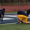 Mark Podolski - The News-Herald<br /> Action from John Carroll's first day of spring practice on March 26.