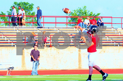 04-02-11 Alumni Football Game-Groesbeck HS vs Mexia MS