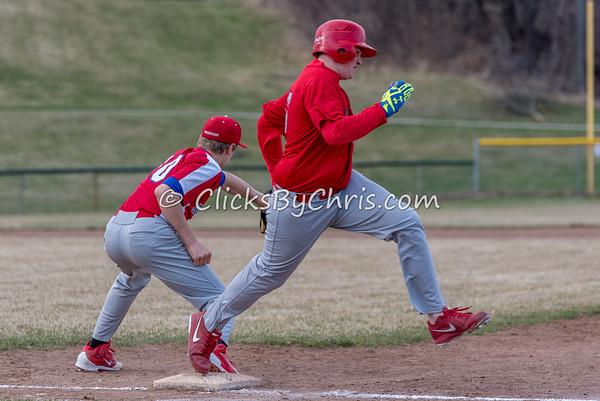 JV Baseball Morrison vs Oregon - Monday, April 6, 2015 - Frame: 3229