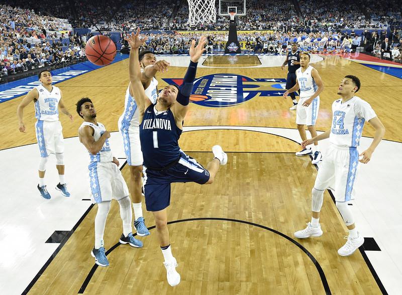 NCAA Villanova North Carolina Final Four Basketball