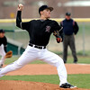 Silver Creek's Ethan Poulsen pitches against Longmont during their game at Silver Creek in Longmont, Colorado April 16, 2010.  CAMERA/Mark Leffingwell