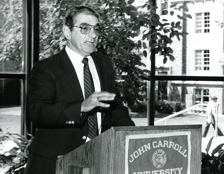 Courtesy John Carroll Athletics<br /> Longtime John Carroll coach and athletic director Tony DeCarlo died April 18 at age 77.