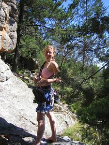 Heidi ready for Etherial, arapilies