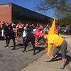 John Kampf - The News-Herald<br /> Runners warm up for the SELebrate Moms 5K on May 13 at Brush High School.