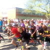 John Kampf - The News-Herald<br /> Runners take off from the starting line for the SELebrate Moms 5K
