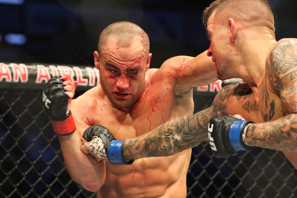 . Tim Phillis - The News-Herald Action from UFC 211 on May 13 in Dallas.