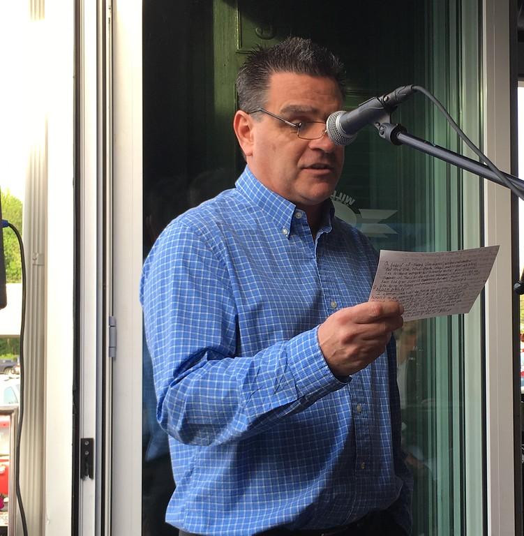 . Mark Podolski - The News-Herald The Bret Poklar Memorial Scholarship ceremony was May 17 at Willoughby Panini\'s.