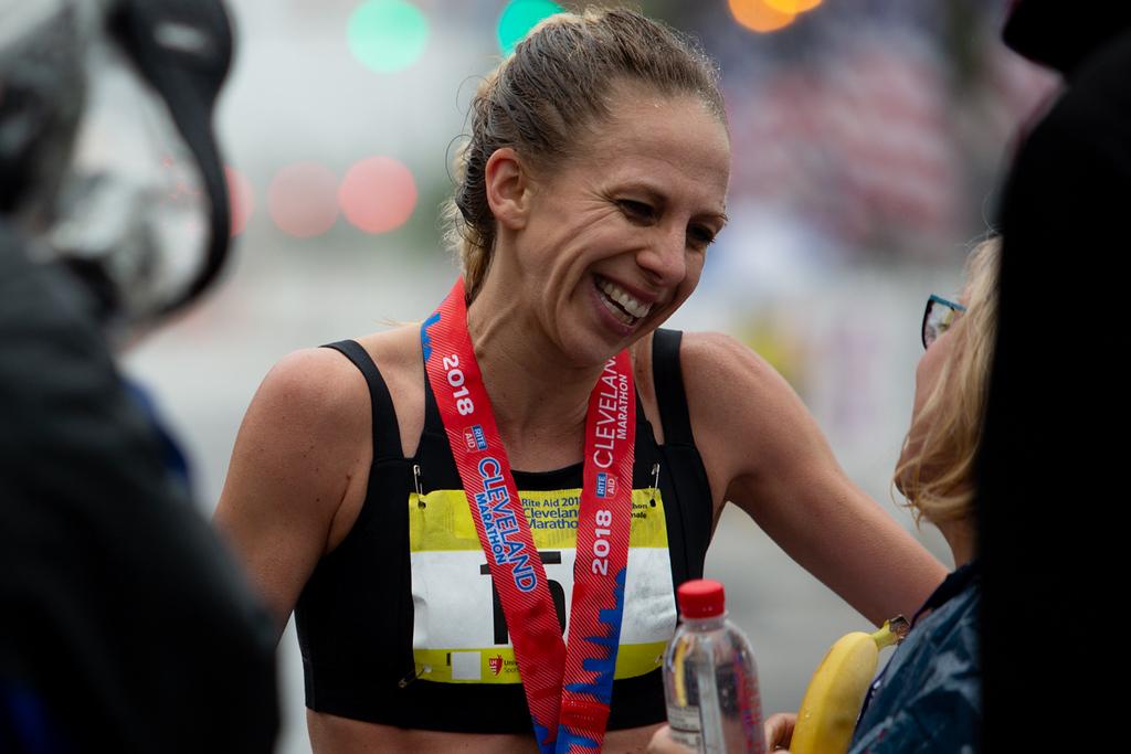 . Michael Johnson - The News-Herald Winner of the Women\'s Half Marathon