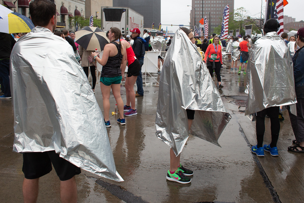 . Michael Johnson - The News-Herald Seen at the Cleveland Marathon on May 20, 2018.