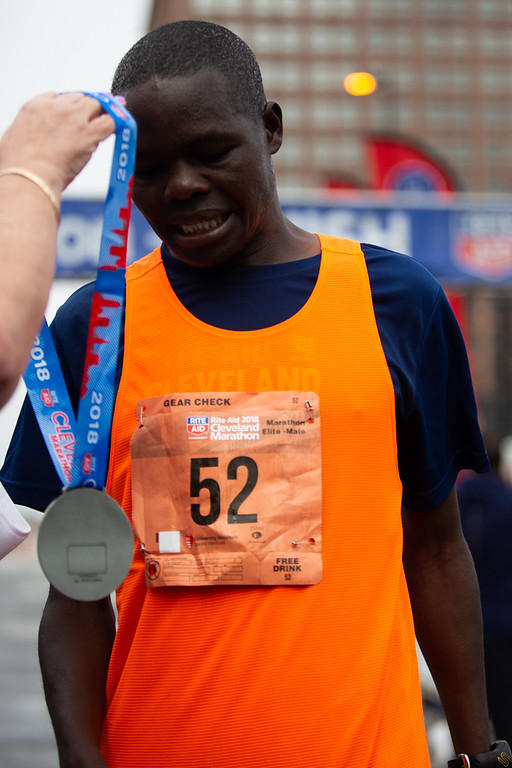 . Michael Johnson - The News-Herald 2nd place in the Cleveland Marathon