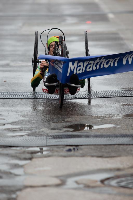 . Michael Johnson - The News-Herald Winner of the wheelchair division