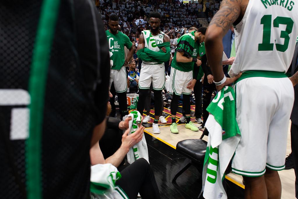. The Celtics Bench