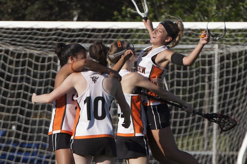 . Chagrin Falls celebrates their win. Jen Forbus -- The Morning Journal