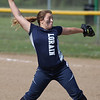Lorain starting pitcher Selena Shawver delivers a pitch against Magnificat during the second inning. Randy Meyers -- The Morning Journal