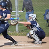 Lorain's Selena Shawver lines a base hit against Magnificat. Randy Meyers -- The Morning Journal