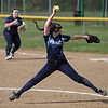 Magnificat starting pitcher Sara Fessler delivers a pitch against Lorain. Randy Meyers -- The Morning Journal